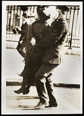 Emmeline Pankhurst arrested at Buckingham Palacec. 1912