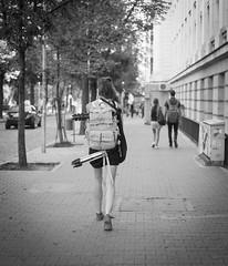 Striding - The POV (Pavel Valchev) Tags: street people 35mm walking sofia pov sony story af a57 aspect striding sal35f18