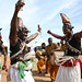People dancing at the announcement of the global launch of Poverty in Rising Africa in Accra, Ghana