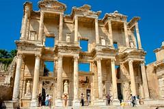 Front View (hecticskeptic) Tags: turkey ephesus libraryofcelsus templeofhadrian bouleuterion nymphaeumtraiani markamorgan