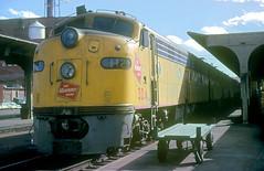 MILW E9 32A (Chuck Zeiler) Tags: road railroad train milwaukee locomotive e9 milw 32a