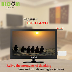 Happy Chhath to all of you by Bloom LED TV (bloomworld) Tags: happy puja chhath