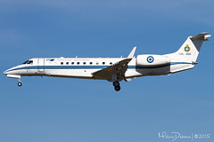 Greece Air Force Embraer ERJ-135BJ Legacy  '135L-484'  LMML (Melvin Debono) Tags: force air greece summit melvin legacy valletta embraer debono erj135bj lmml 135l484