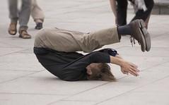 Praying (jerzysobkowicz) Tags: pavement prayer recumbent liberated
