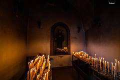 church (andreatomaselli1) Tags: street autumn winter cold church rain canon lens fire reflex san candles day candle photographer sigma atmosphere 7d raining 1020 paola francesco lenses divieto scatto cosenza 2470 canpon