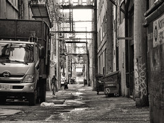 Back alley (annapolis_rose) Tags: vancouver blackwhite alley chinatown