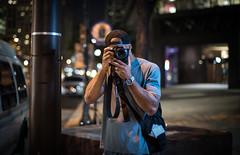 iWitness, Canon Shooter (Troy Hood Images) Tags: street city color philadelphia singlelight d810 nikoncls su800 sb700 50mm14g troyhoodimages tehimages iwitnesscanonshooter