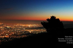 after sunset in Athens (philos from Athens) Tags: parnitha viewfromthemountain picmonkey