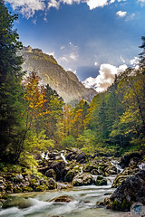 Helm's Klamm,  Zugang zur Hllentalklamm (MSPhotography-Art) Tags: autumn mountain alps nature creek germany landscape bavaria waterfall rocks wasserfall herbst natur canyon berge fluss landschaft schwarzwald blackforest wandern tal allgu hllental hllentalklamm wutachschlucht klamm