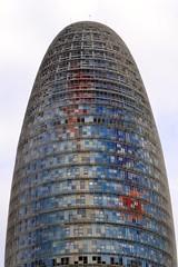 TORRE GLÒRIES (abans TORRE AGBAR) (Yeagov_Cat) Tags: 2015 barcelona catalunya torreagbar torre agbar diagonal avingudadiagonal jeannouvel 2005 b270 torreglòries glòries