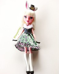Bunny blanc (TheGreatSpid) Tags: bunny high doll dolls after ever blanc mattel eah everafterhigh