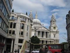 Big Brown Bus (RubyGoes) Tags: uk england london stpauls