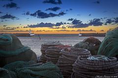 161127 319w1 (Marteric) Tags: träslövsläge läjet varberg halland landscape nature sunset harbour sky atumn evening cold net fish trawler pier jetty outdoor