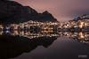 Symmetry (toroddottestad) Tags: nightphotography night laksevåg nipedalen lyngbø bergen norway silent calm peaceful nikond750 nikkor28mmf18 reflections water symmetry lines city urban longexposure