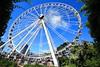 The Wheel of Brisbane (Masoodz) Tags: brisbane ferris wheel southbank parklands queensland australia canon 650d efs1018mm wideangle