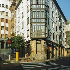 bilbao (thomasw.) Tags: bilbao paisvasco baskenland spain spanien espana europa europe travel analog cross crossed mf mamiya 120