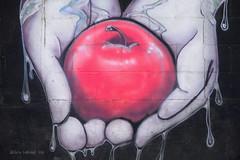 Graffiti Art (Chris Lakoduk) Tags: apple hands graffiti pattern patterns graffitiart streetphotography streetart art