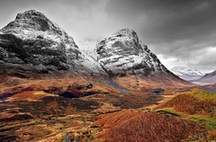 Glencoe, Scottish Highlands. (Tony Armstrong-Sly) Tags: scotland highlands scottishhighlands glencoe landscape mountains snow ice climbing uplands britishcountryside nature