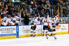"Missouri Mavericks vs. Utah Grizzlies, December 28, 2016, Silverstein Eye Centers Arena, Independence, Missouri.  Photo: John Howe / Howe Creative Photography • <a style=""font-size:0.8em;"" href=""http://www.flickr.com/photos/134016632@N02/31813509552/"" target=""_blank"">View on Flickr</a>"