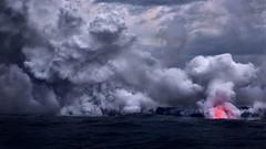 Creation (mitalpatelphoto) Tags: adventure bigisland blue clouds creation earth explore glow hawaii horizontal land landscape lava nature nikon pacificocean photography steam travel usa visit volcano water pāhoa unitedstates us