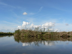 soon (achatphoenix) Tags: scenic canoe boat water wasser waterscape eau eastfrisia aqua september rheiderland ostfriesland