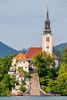 Lake Bled (Andres Pela) Tags: slovenia eslovenia bled lake lago canon travel viajar europe europa 6d church iglesia