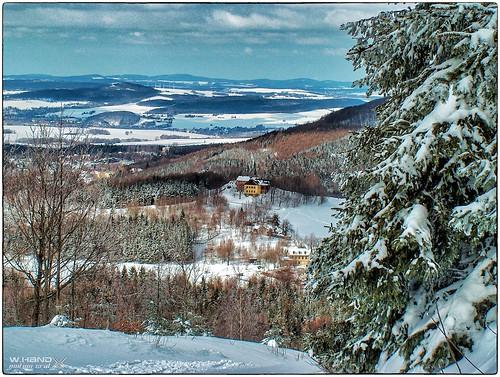 Nordwestblick vom Hochwaldturm