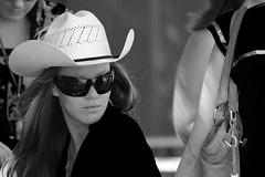 IMG_0834 Woman with hat and sunglasses (B&W) (Rodolfo Frino) Tags: bnw noiretblanc woman byn blancoynegro pretty sydney australia mujer bella hermosa beautiful beautifulwoman mujerhermosa linda