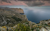 Colorful sunrise (Mika Laitinen) Tags: canon5dmarkiv europe mallorca spain talaiadalbercutx cliff cloud color colorful landscape mountain ocean outdoor rock sea seascape sky sunrise water winter pollença illesbalears es