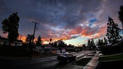 Calm (Marcelo David) Tags: rain cloud cloudy clouds california sunset