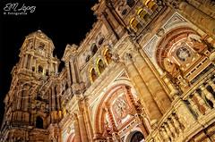 LA MANQUITA (E.M.López) Tags: 2017 invierno enero málaga andalucía catedral iglesia templo noche nocturna iluminación lamanquita catedraldemálaga monumento monumental