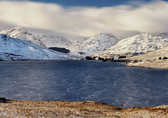 Loch Arklet (mellon93) Tags: scotland loch arklet mountains snow trossachs breathtakinglandscapes winter