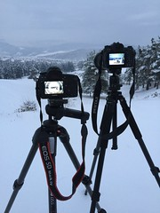 Battle of the beasts: Canon 5Dmk4 VS. Pentax K - 1...let the best one win👍👍👍 Photography Themes Technology Camera - Photographic Equipment Photographing Tripod Digital Camera Sky Winter Outdoors No People Snow Nature Cold Temper (Nick Pandev) Tags: photographythemes technology cameraphotographicequipment photographing tripod digitalcamera sky winter outdoors nopeople snow nature coldtemperature day mountain digitalsinglelensreflexcamera slrcamera lowepro benro manfrotto pentax canon copyspace tripods dslr