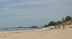 Refinery beach
