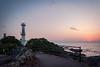 Lighthouse of Cape Nagasaki-bana 長崎鼻灯台 (Chen Yiming) Tags: landscape japan japanese kyushu kagoshima asia nagasakibana cape bluehour dusk ibusuki satsuma lighthouse peninsula sunset sunsetting pacificocean ocean sea