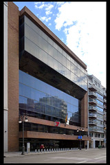 ES valencia social security fund office 01 (carrer colon) (Klaas5) Tags: architektur spain spanje spanien woongebouw ©picturebyklaasvermaas architektuur architettura architectuur arquitectura architecture espana kantoorgebouw officebuilding gebouw building architect bouwjaar completed structure brutalism brutalist brutalisme