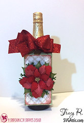 sparkling Cider 1 (Tracy Rushton) Tags: cards silhouette cameo gifts papercrafts christmas