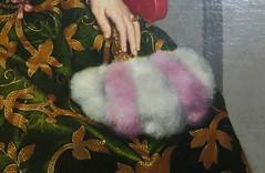 Moroni - Portrait of Isotta Brembati (c. 1553-53, detail II) (Elisa1880) Tags: rijksmuseum twenthe enschede nederland netherlands in het hart van de renaissance heart exhibition tentoonstelling kunst art italy italie north noorditalie giovan battista moroni portret isotta brembati portrait