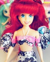 Whale of a tale Ariel (TheGreatSpid) Tags: disney princess ariel little mermaid doll dolls tyco vintage whale tale