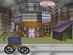 hansom2 (today1996) Tags: godfrey illinois lccc hansom house february winter road tree grpahic art