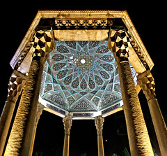 Tomb of Hafez - Shiraz (André Schönherr) Tags: 40d visionhunter iran shiraz hafez poet dichter grabstätte gebäude pavilion tomb grab säulen column
