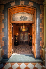 Entrance Hall of the Calhoun Mansion (HD_Keith) Tags: architectural architecture building edifice edifices historic historical structures charleston sc usa