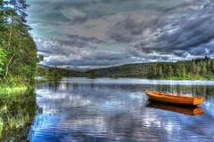 Boat (Kjetil ) Tags: lake nature norway canon eos boat norge hdr førde 500d sognogfjordane photomatix trebåt flickrheroes platinumheartaward kjetil