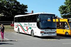 Abbey Travel FM55 RRO Cromer Coach Park 160815 (return2layerroad) Tags: leicester norfolk cromer abbeytravel setras315gthd fm55rro