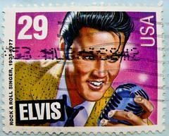 *in memory* great stamp USA 29c Elvis Presley (1935-1977; Rock'n Roll Singer, actor; Memphis, Tennessee; Graceland) United States postes timbre selos sellos USA francobolli postzegels USA     postage  Briefmarke USA      (thx for sending stamps :) stampolina) Tags: music america postes stamps elvis stamp memory singer sa rocknroll amerika postzegel rockandroll selo  bolli elvispresley sello sellos statiuniti briefmarken jav tatsunis frimrken briefmarke   francobollo uspostage selos timbres vereinigtestaaten frimrker  francobolli bollo  zegels  zegel verenigdestaten znaczki markica   perangko frimerker pullar  selyo amerikabirleikdevletleri    blyegek  antspaudai raztka  znaczkwpocztowych potovznmky