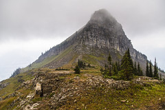 Cloudy Haystack Butte (GlacierNPS) Tags: glaciernationalpark loganpass montana nationalparks nps summer