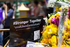 Erawan Shrine re opens (KParchYVR) Tags: thailand shrine open bangkok repair re blast brahma erawan strongertogether ratchaprasong