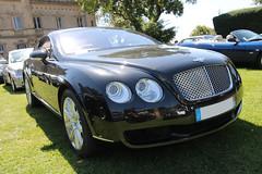 Continental GT (xwattez) Tags: auto france castle car automobile continental voiture british transports gt chteau bentley prestige 2015 vhicule rassemblement anglaise launaguet