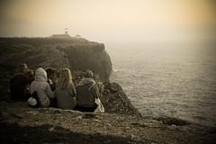cabo de sao vicente (vgasparini) Tags: friends sunset people portugal de cabo tramonto streetphotography persone vicente algarve sao amici