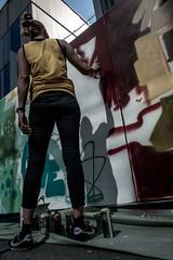 Street artist (Geoffrey Etwein) Tags: workshop leuthard